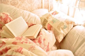 bed and book